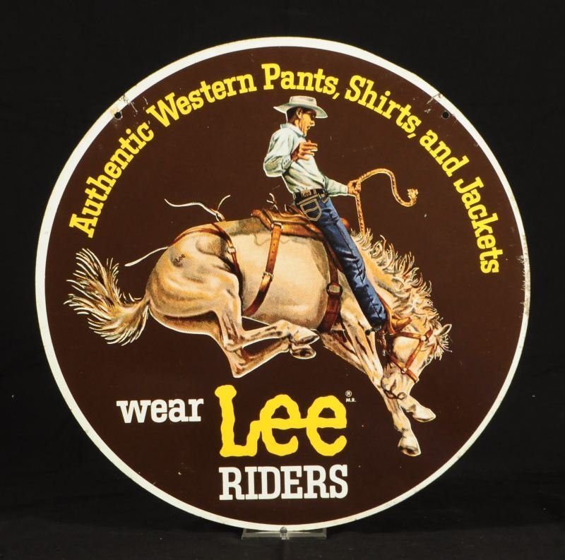 12: Lee Rider Jeans Double Sided Sign