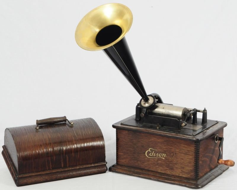 15: Edison Phonograph