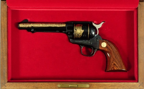 Colt SA .45 Commemorative in Case FFL
