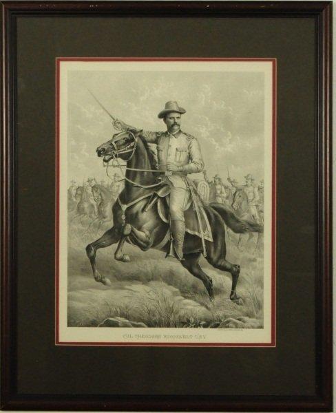 Teddy Roosevelt Lithograph