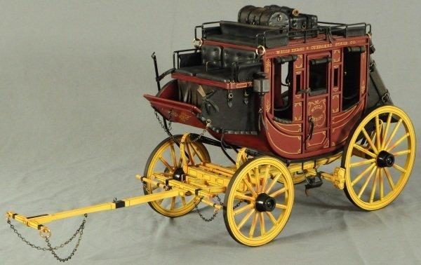 Dale Ford Original Wells Fargo Stagecoach Wagon