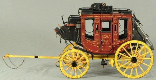 Dale Ford Original Wells Fargo Stagecoach Wagon - 2