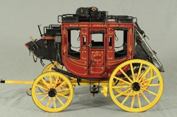 Dale Ford Original Wells Fargo Stagecoach Wagon - 3