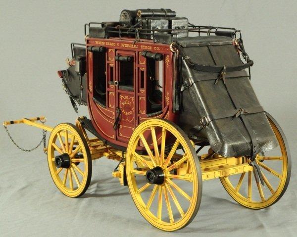 Dale Ford Original Wells Fargo Stagecoach Wagon - 4