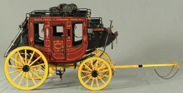Dale Ford Original Wells Fargo Stagecoach Wagon - 5