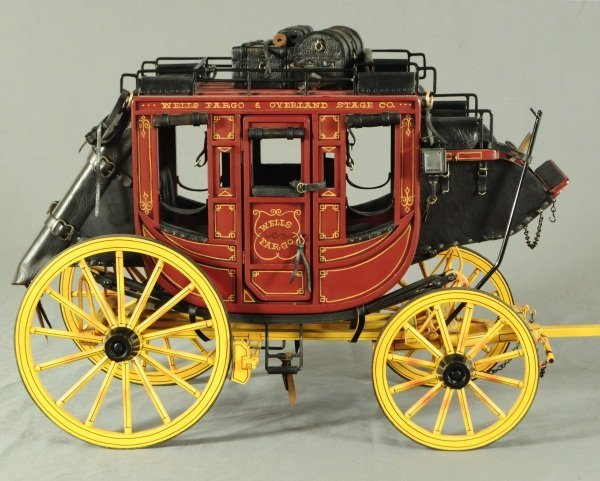 Dale Ford Original Wells Fargo Stagecoach Wagon - 6