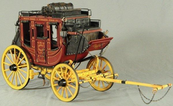 Dale Ford Original Wells Fargo Stagecoach Wagon - 8