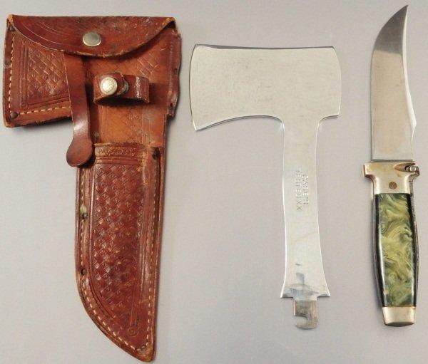 Case's Hatchet and Knife Combo Set
