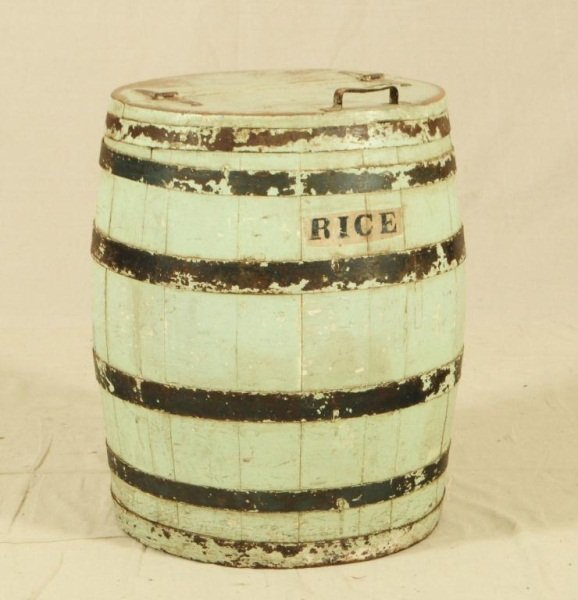 5: Rice Barrel from Victoria, Texas Country Store