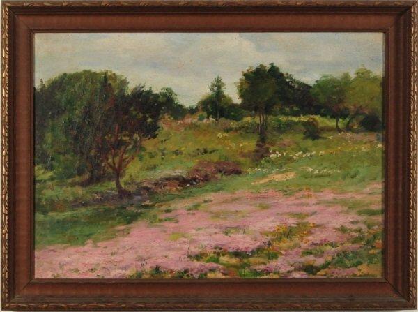 10: Landscape Oil On Canvas Nancy Gerkins