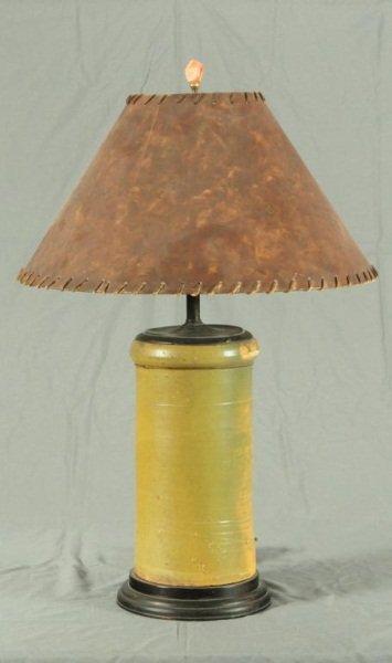 17: Meyer Texas Pottery Jar Lamp