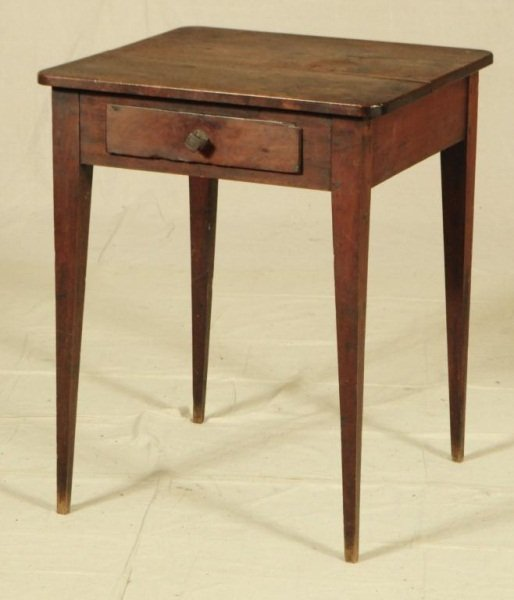 22: One Drawer Table