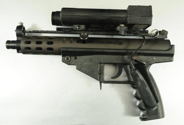 281: A A Arms Model AP9 9mm With Laser Sight - 2