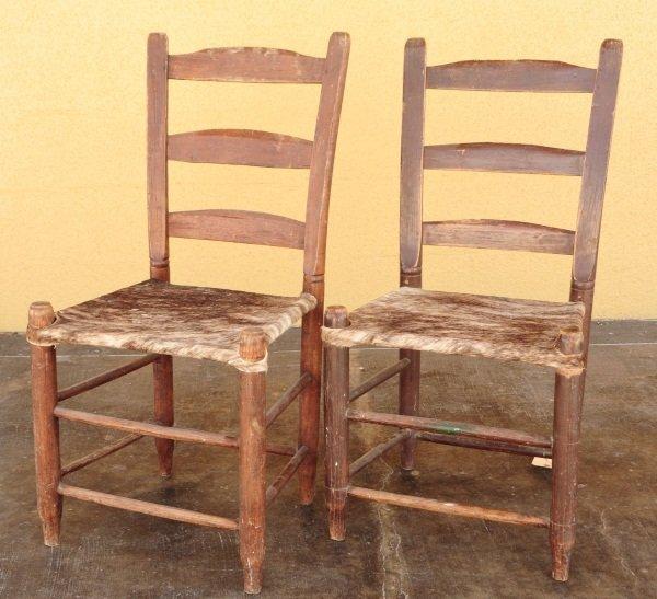21A: 2 Morrow Crockett, Texas Chairs