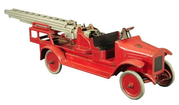 1: Buddy L Pressed Steel Fire Truck