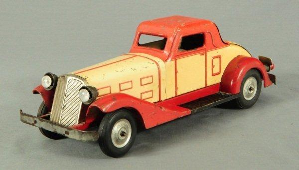 9: Louis Marx Tin Toy Car