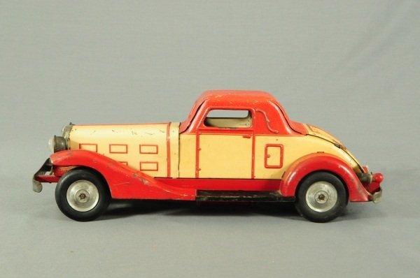 9: Louis Marx Tin Toy Car - 3