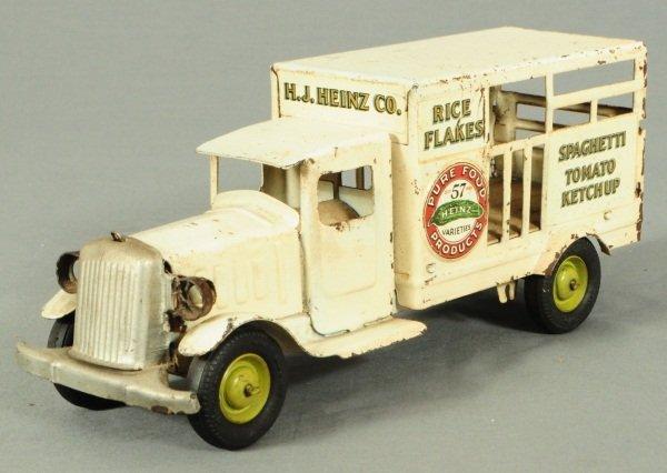 10: Heinz 57 Pickle Truck Metalcraft Toy