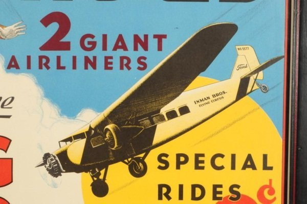 15: Vintage Boeing Clipper Airplane Ride Poster - 10