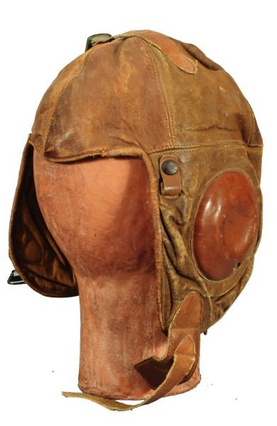20: Western Electric No. 1-A Leather Pilot's Helmet
