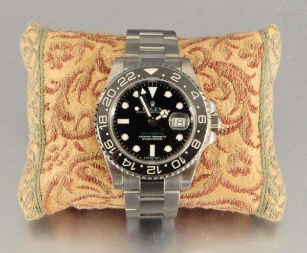 415: Men's SS Oyster Perpetual Date Rolex Watch