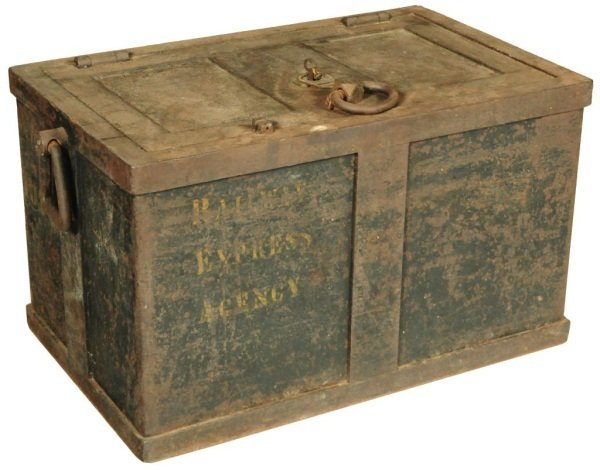 Railway Express Agency Railroad Strong Box