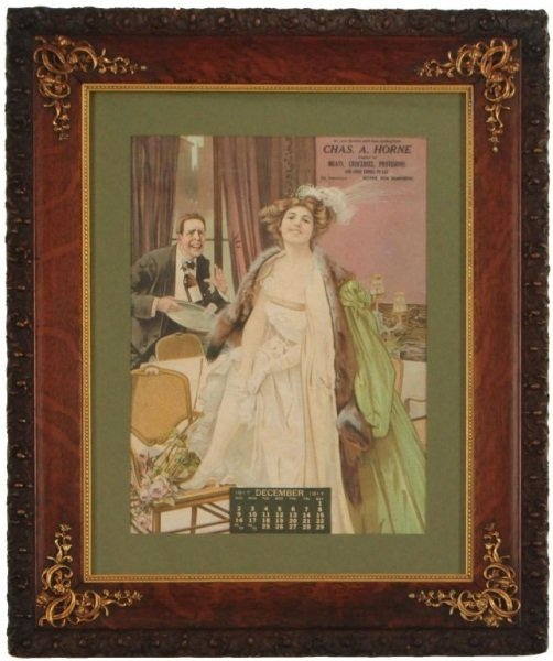 1917 Risque Grocery Store Advertising Calender
