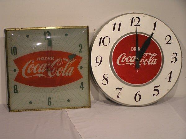 1: Coca Cola Clock