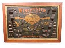 175: Winchester Double W Bullet Board Vintage 1890's