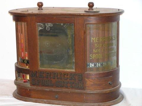 50: Merrick's Double Spool Cabinet General Store Displ