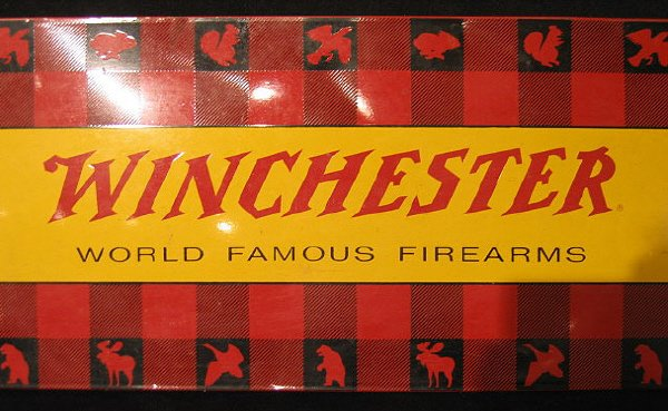 15: Lithographed Tin Winchester Sign