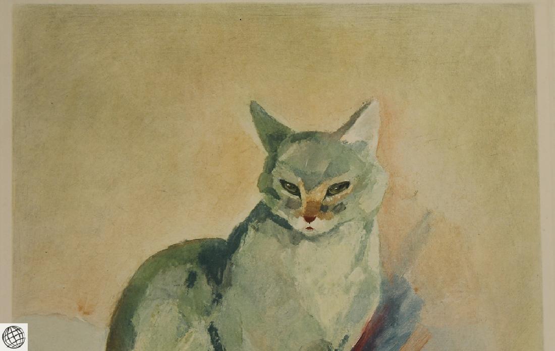 Cat Portrait JACQUES LEHMANN NAM C1930 Vintage Original - 3