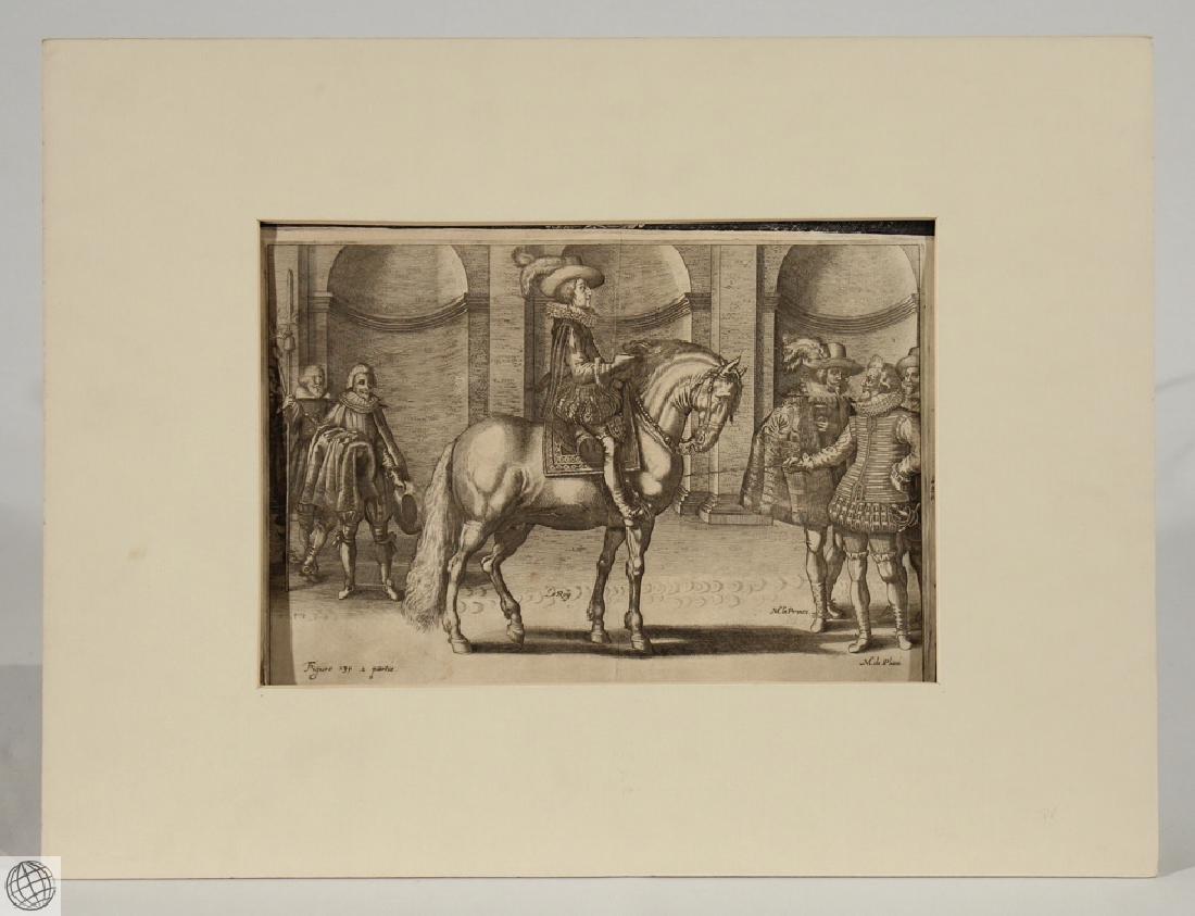 Horses Manege Royal ANTOINE DE PLUVINEL Crispin de