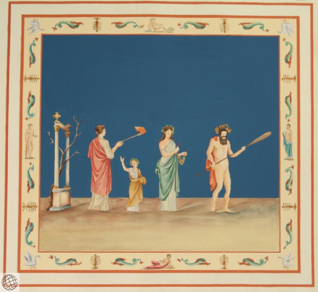 Rome Domus Aureus Fresco MARCO CARLONI Smugliewicz - 2