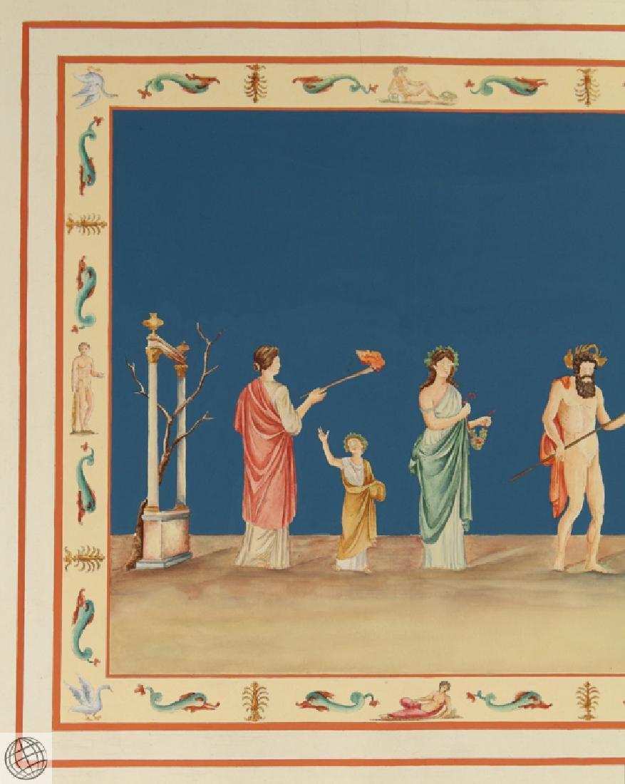 Rome Domus Aureus Fresco MARCO CARLONI Smugliewicz - 3