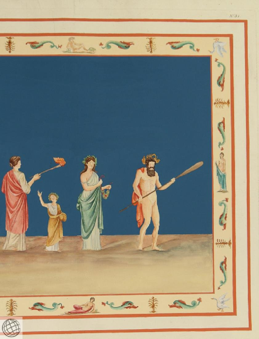 Rome Domus Aureus Fresco MARCO CARLONI Smugliewicz - 4