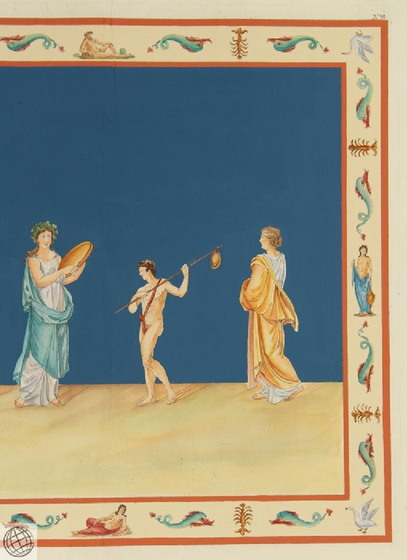 Domus Aureus Fresco MARCO CARLONI Smugliewicz Original - 4