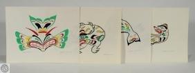 4Pcs Mythic Creatures ALLEN JAMES First Nation