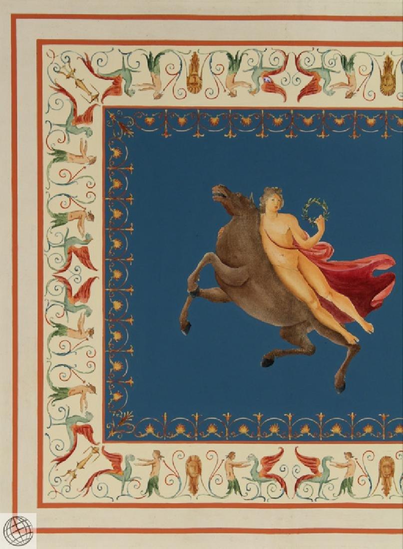 Engraving Domus Aureus Fresco MARCO CARLONI Smugliewicz - 3