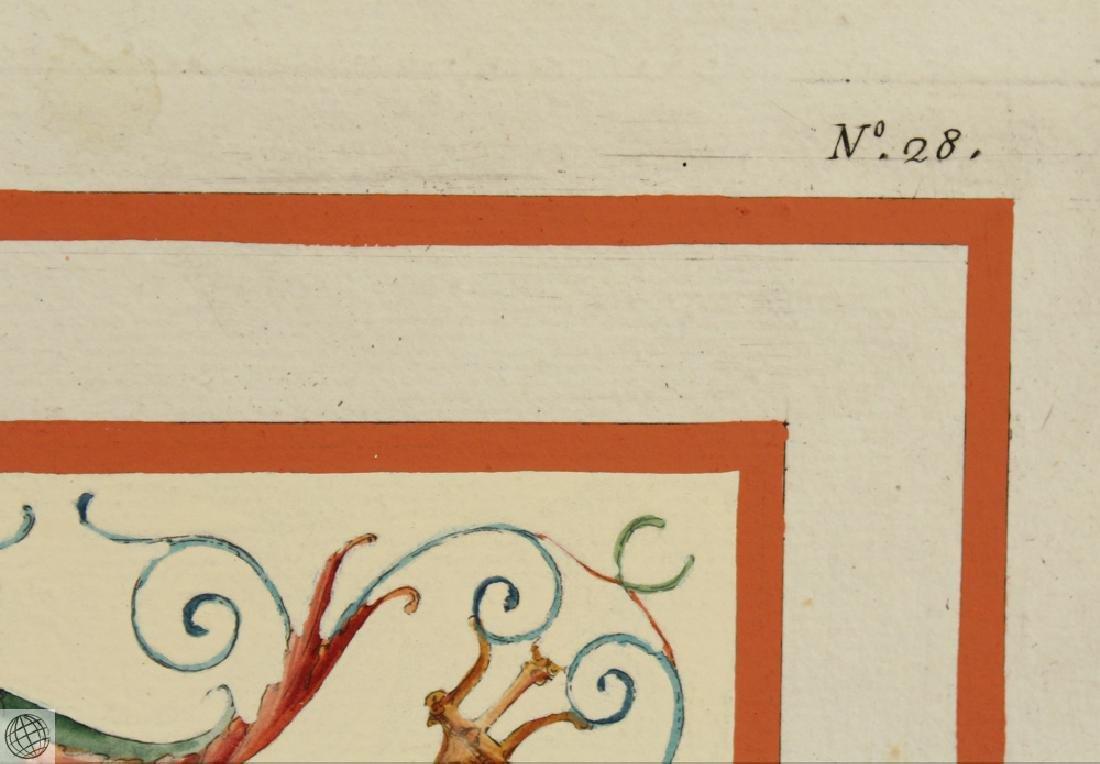 Engraving Domus Aureus Fresco MARCO CARLONI Smugliewicz - 5