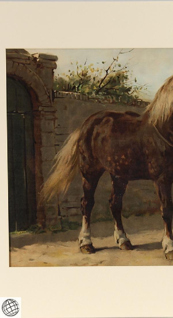 Zeeland Horse OTTO EERELMAN Color Lithograph Goffart - 3