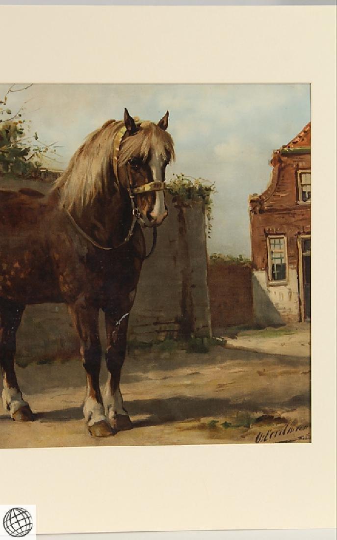 Zeeland Horse OTTO EERELMAN Color Lithograph Goffart - 4