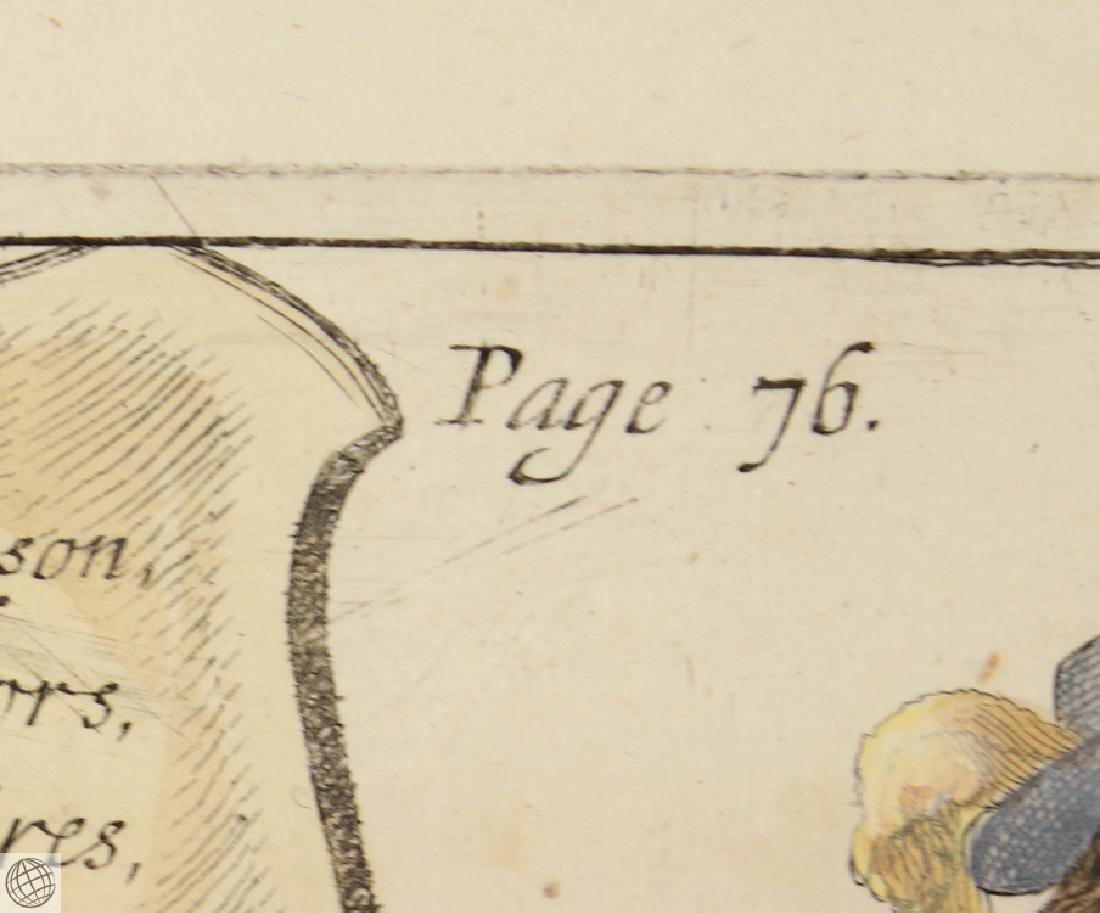 Cavesson Horse NEWCASTLE Duke Of Cavendish 1743 Copper - 6