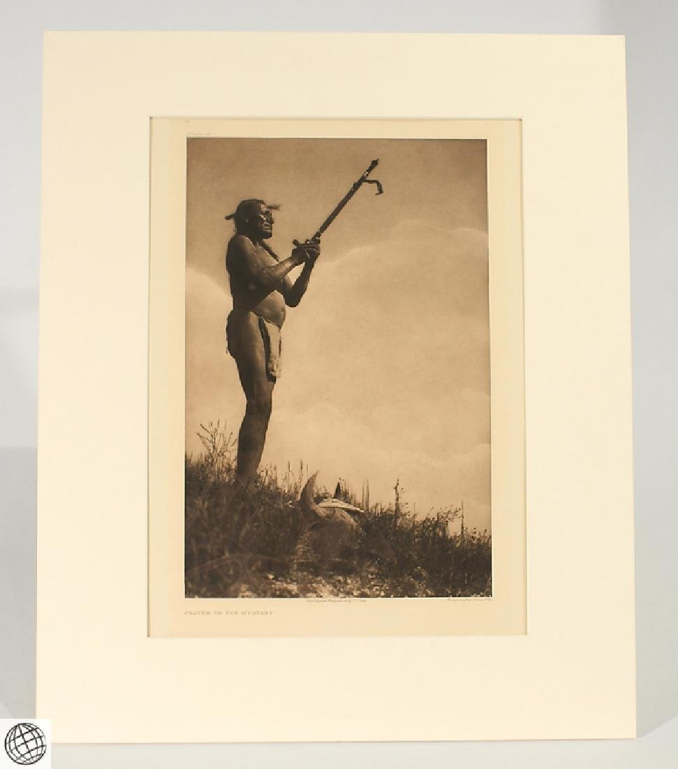 Prayer To The Mystery EDWARD CURTIS Photogravure