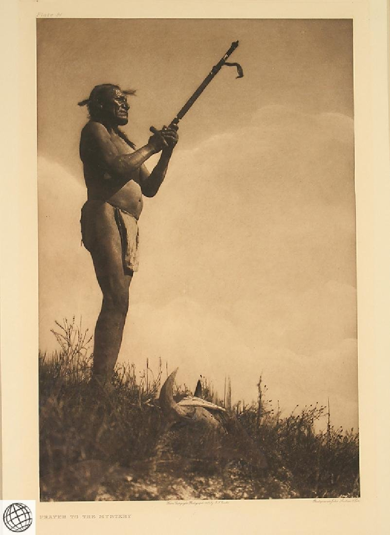 Prayer To The Mystery EDWARD CURTIS Photogravure - 2