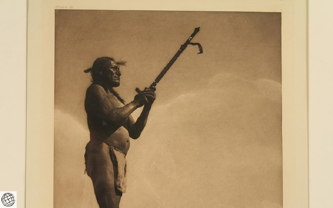 Prayer To The Mystery EDWARD CURTIS Photogravure - 3