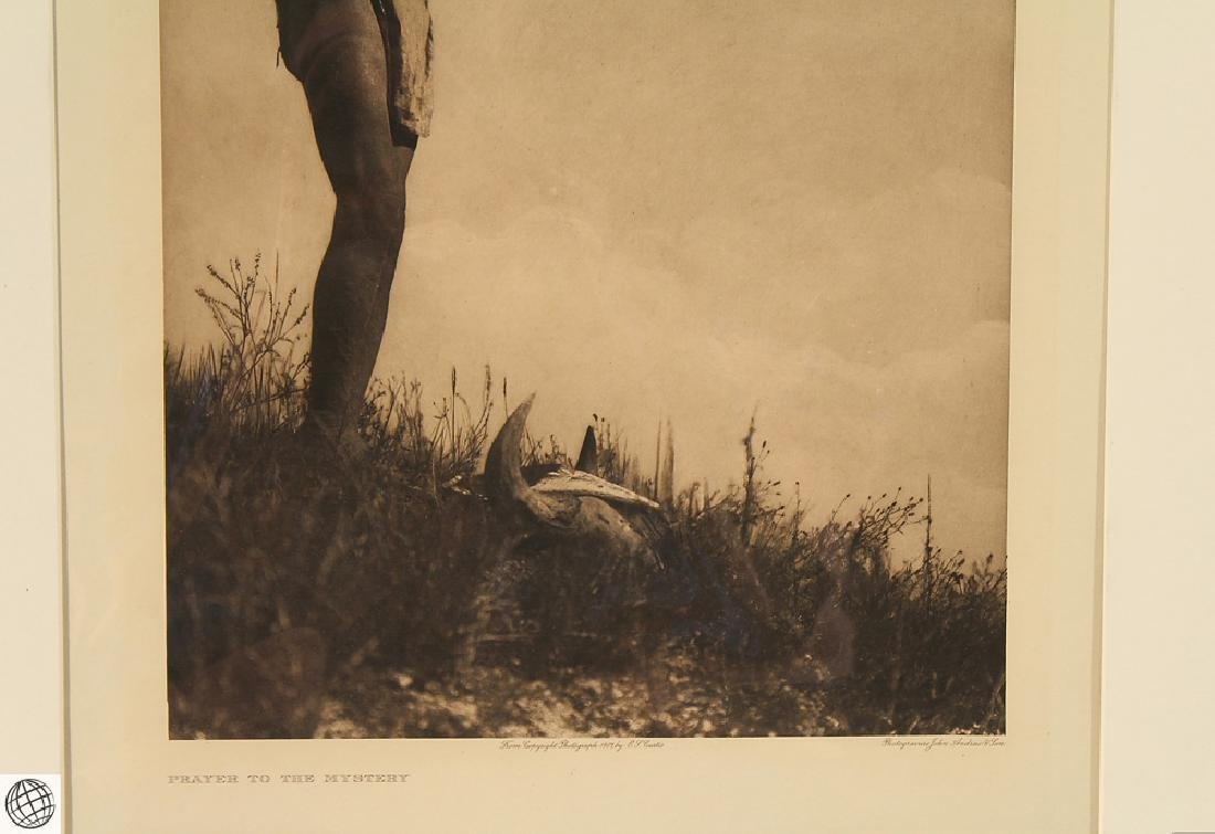 Prayer To The Mystery EDWARD CURTIS Photogravure - 4