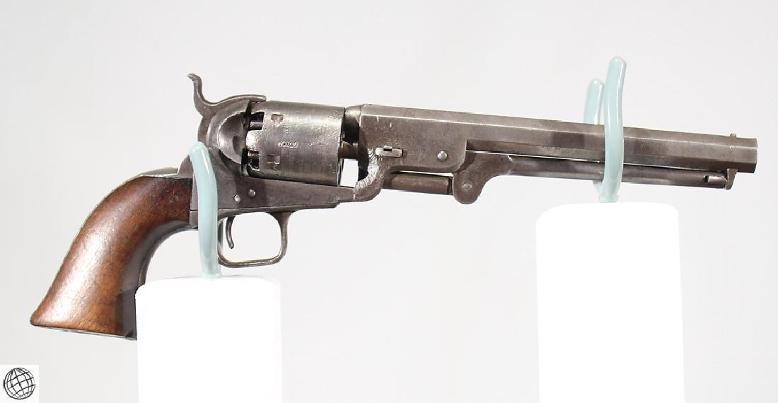Model 1851 COLT NAVY REVOLVER Martially Marked US