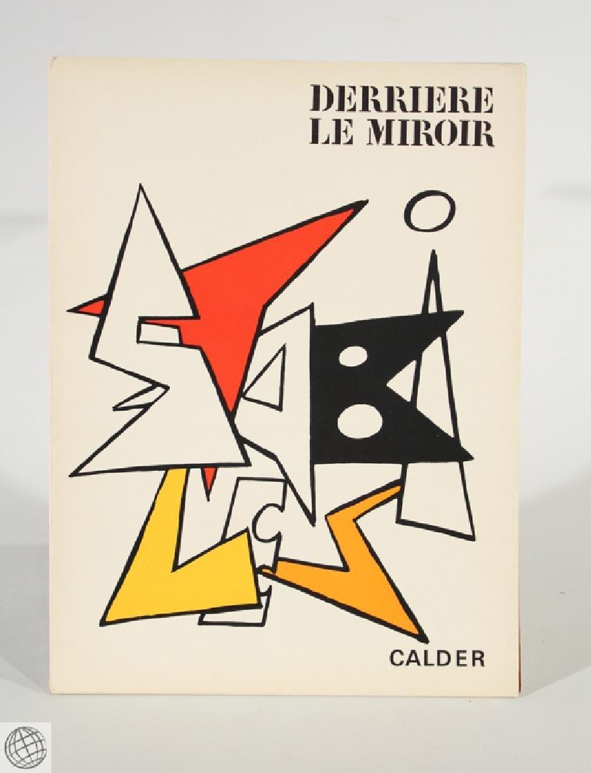 Derriere Le Miroir CALDER No. 141 Nov 1963 Original