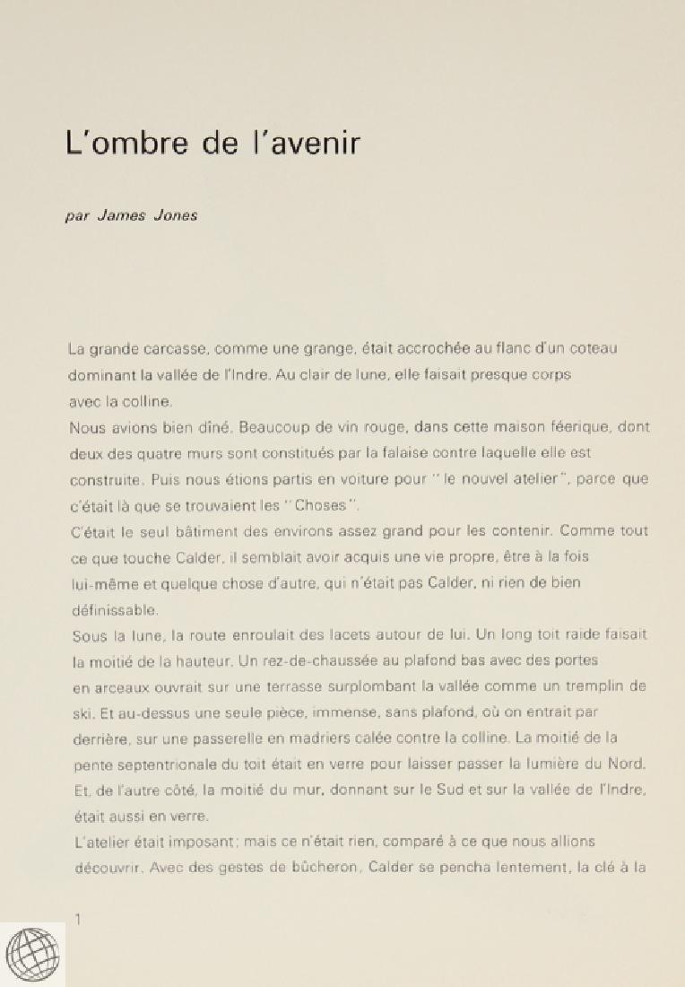 Derriere Le Miroir CALDER No. 141 Nov 1963 Original - 3